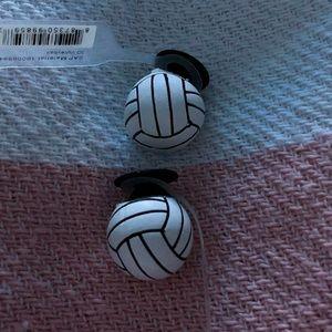 Crocs Volleyball Jibbitz | Poshmark